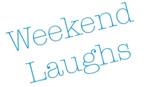 Weekend Laughs Header